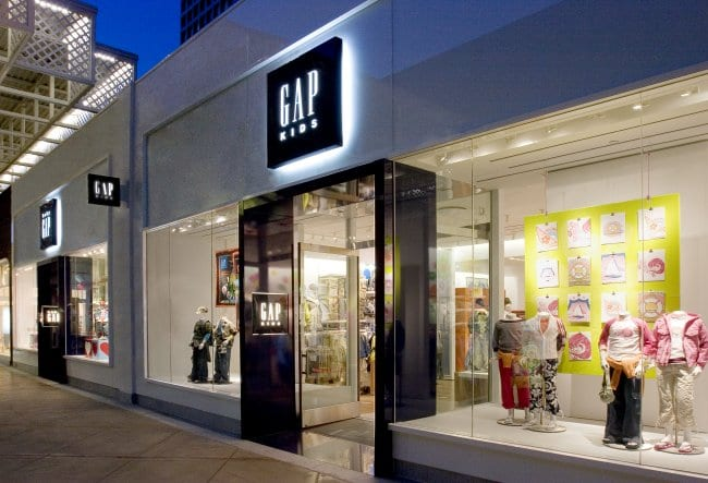 Gap - Storefront